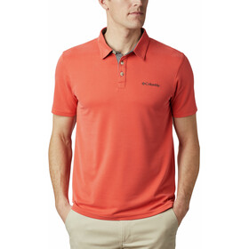 Columbia Nelson Point Polo Herren wildfire